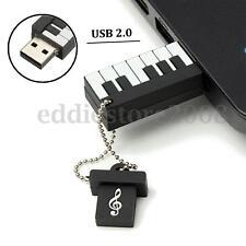 64 GB USB 2.0 Piano Shape Flash Drive Memory Stick Pen Thumb Storage U Disk