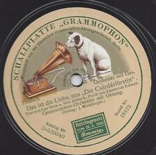 Csardasfürstin  von Emmerich Kalman  Platte von 1915 zur Uraufführung