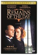 Remains of The Day 0043396710979 With Anthony Hopkins DVD Region 1