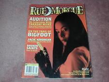 RUE MORGUE magazine # 48, Takashi Miike, Bigfoot, Jack Kevorkian
