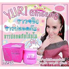 NEW... YURI Whitening body cream Ginseng Cream Lightening Body Brightening skin