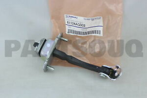 61124AG002 Genuine Subaru CHECKER ASSY DR F 61124-AG002