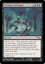 PROMISE OF POWER Mirrodin MTG Black Sorcery RARE