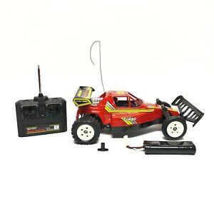 Vintage 1988 Radio Shack Red Arrow Turbo Frame Remote Control Buggy 7 60-4077