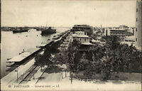Port Said Būr Saʿīd Ägypten Egypt AK ~1910 General View Panorama Harbor Hafen