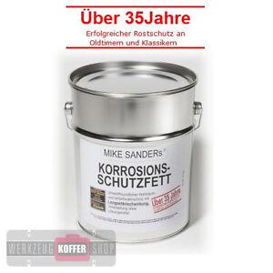 (15,38€/kg) Oldtimer Korrosionsschutzfett Rostschutz 4 kg Mike Sanders Sander