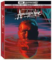 New Sealed Apocalypse Now Final Cut 6-Disc Set 4K Ultra HD + Blu-ray + Digital