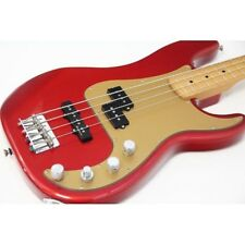 Electric Bass Fender DX Active P-BASS Special Precision Gold Red 2007 USED