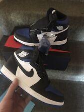 """Nike Air Jordan 1 Retro High OG Game Royal 'Royal Toe' UK 7 US 8 """" IN HAND"""""""