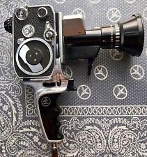 Bolex Paillard P1 8mm Movie camera vintage working 1960s