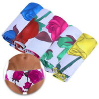 Men's Brief Low Rise Quick Dry Beach Floral Swimwear Bikini Surf Shorts Trunks