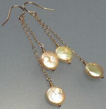 Rose Gold 14k Handcrafted Earrings