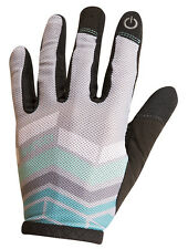 Pearl Izumi 2016 Women's Divide Full Finger MTB Gloves Aqua Mint Medium