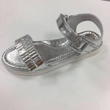 LELLI KELLY LK7474 Silver Jewel MEGAN Sandals EU 32 US 1 UK 13 NIB
