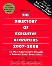 The Directory of Executive Recruiters 2007-2008 (D