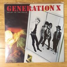 "Generation X Valley of the Dolls 12"" Vinyl Record Album Original 1979 Release"