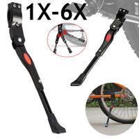Adjustable MTB Road Kickstand Side Rear Kick Stand Mountain Bike Bicycle Black