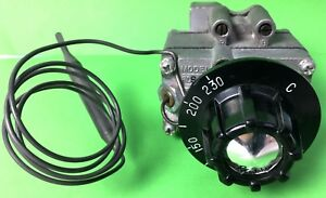 Robertshaw FDS Gas Thermostat 50-230°C with Control knob