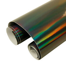 Iridescent Holographic Laser Neon Chrome Chameleon Vehicle Vinyl Wrap 7 Colors