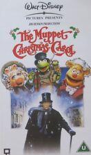THE MUPPET CHRISTMAS CAROL -  WALT DISNEY - VHS - (DISNEY CASE)