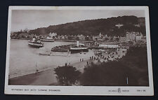More details for postcard rothesay bay turbine steamers isle of bute scotland unposted real photo