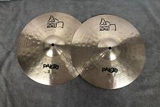 "Paiste Alpha 14"" hi hat cymbal set/pair 925/1095 grams. Great condition."