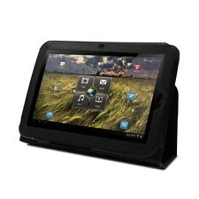 """Quality Leather Folio Smart Case Cover Stand for Lenovo IdeaPad K1 10.1"""" Tablet"""
