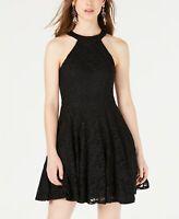 B. Darlin Junior's Glitter Lace Fit & Flare  Dress Size 3/4
