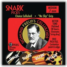 NEW 2016 12 Pack Snark Freud Celluloid .7 MM Medium Guitar Picks 70C Plectrums