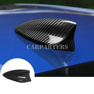 For Chevrolet Camaro Carbon Fiber Car Roof Shark Fin Antenna Cover 2016-2021