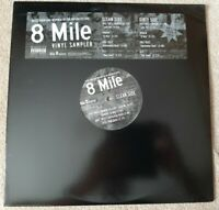 8 MILE SOUNDTRACK VINYL LP SAMPLER - RARE - EMINEM - 8 TRACKS - CLEAN & DIRTY