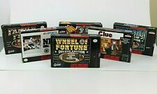 Super Nintendo Game Collection Lot of 6 SNES Complete w/ Original Box & Manual