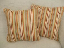 """STRATA BY SCION 1 PAIR OF 18"""" CUSHION COVERS - PIPED AND DOUBLE SIDED"""