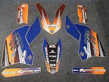 KTM SX65 2009-2015 Flu Designs PTS 2 Factory Team graphics  GR1534