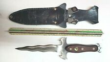 Athame Dagger Wicca Wiccan Pagan Ceremonial Knife Altar Knife W SHEATH
