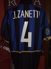 ZANETTI INTER 2002/2003 MAGLIA SHIRT CALCIO FOOTBALL MAILLOT JERSEY SOCCER
