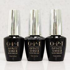 OPI Infinite Shine Kit Nail Polish Lacquer Set 3 GLOSS (Top Coat) 15ml / 0.5oz