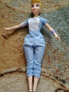 """Disney LITTLE BO PEEP PIXAR Doll Toy Story 4 Talking 14"""" Jointed WORKING TOY"""