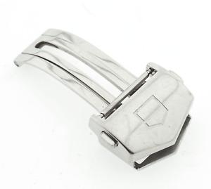 Genuine Tag Heuer Carrera Watch Steel Bracelet Clasp Part FC5037-0 18mm