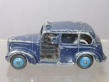 Vintage dinky toy's modèle No.40h austin (FX3) taxi