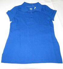 Old Navy girls youth short sleeve polo shirt S 6-7 Blue Ta School Uniform 301098