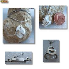 Perlen Anhänger Barock Perle mit Diamant 585 Gold 14 Karat Weißgold