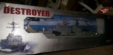 "Destroyer Battleship Warship RC Boat Remote Control 31"" 1:115 scale 2879 w/ Box"