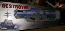 "Destroyer Battleship Warship RC Boat Remote Control 31"" 1:115 scale 2879 w/ Box"