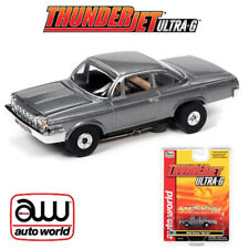 Auto World Thunderjet R32 1962 Chevrolet Bel Air Silver Ho Scale Slot Car
