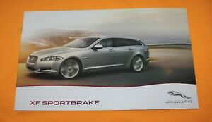 Jaguar XF Sportbreak 2012 Prospekt Brochure Depliant Catalog Prospetto Folder