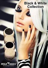 UV-Farbgel *Black & White Collection*Beste Qualität*by PEGA NAILS