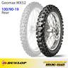 "NEW Dunlop Geomax MX52 MX Motocross Tyre - Rear 100/90-19"""