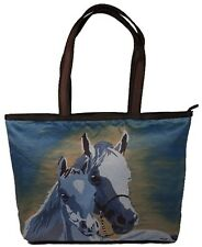 Horse Handbag Tote Bag by Salvador Kitti - Support Wildlife Conservation
