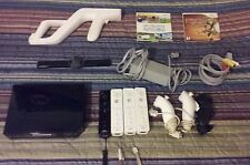 Limited Edition Wii With Four Remotes, 3 Nunchucks, 3 Games, and One Accessory